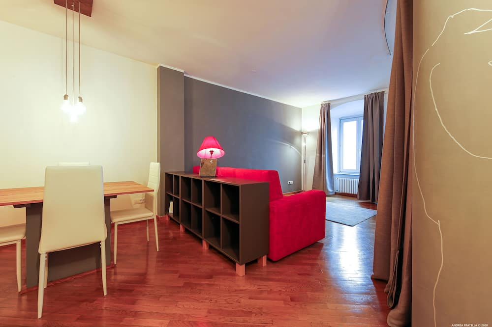 Apartmán typu Exclusive, 1 spálňa (incl. cleaning fee and city tax) - Obývacie priestory