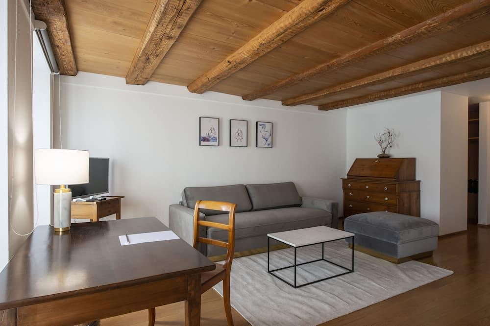 Phòng đôi Deluxe - Khu phòng khách