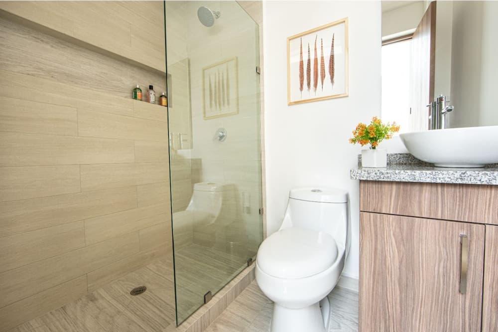Deluxe-Apartment - Badezimmer
