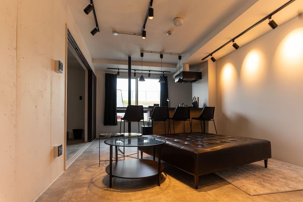 Apartamento (#001) - Zona de estar