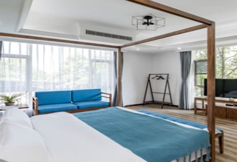 Ruicheng Hotel Chengdu, Chengdu, Deluxe Double Room, Guest Room
