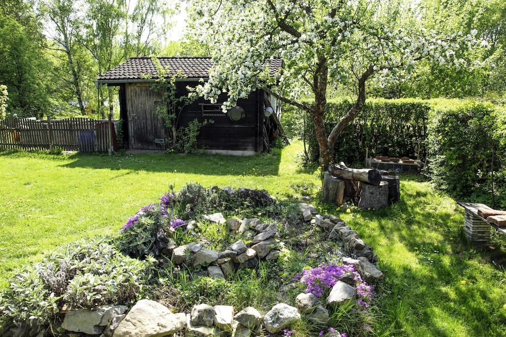 Classic Διαμέρισμα, 2 Queen Κρεβάτια, Μη Καπνιστών, Βεράντα - Θέα στον κήπο