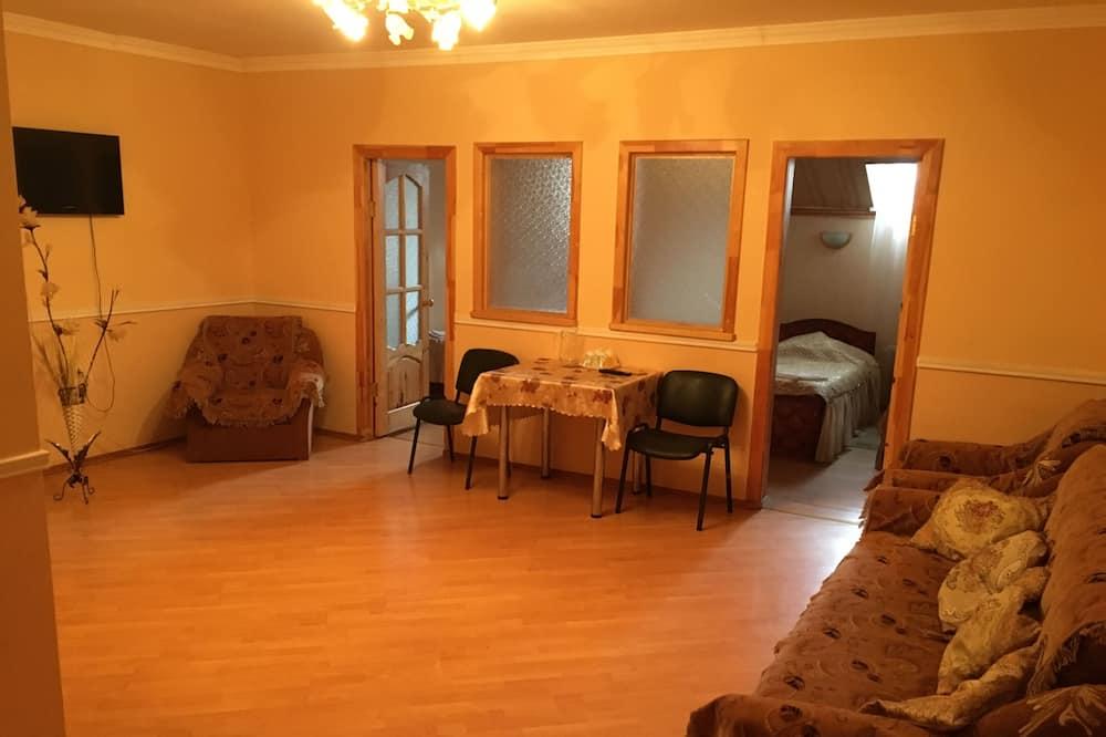 חדר פרימיום, 2 מיטות קווין - סלון