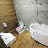 Suite Comfort, 1 cama queen-size com sofá-cama - Banheira de hidromassagem privada