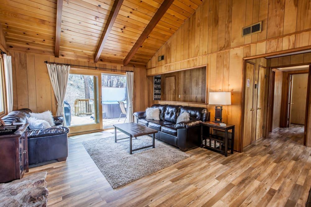 Kabin, 4 kamar tidur - Ruang Keluarga