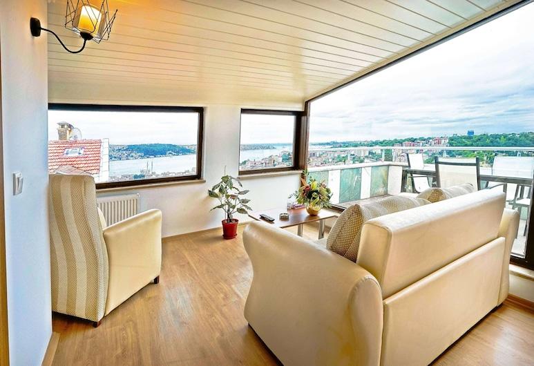 Class Hotel Bosphorus, Estambul, Suite de lujo, Habitación