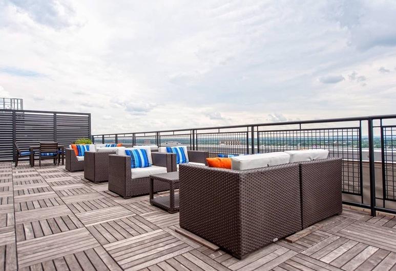 Abode Vue at 3rd 1-bedroom Loft-style Suite, Louisville, Bahagian dalam
