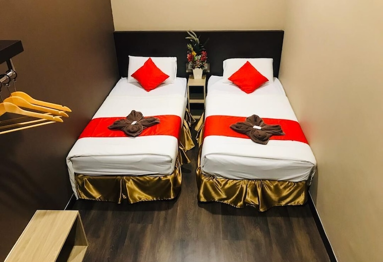 Highway Times Inn, Ipoh, חדר דה-לוקס טווין, חדר אורחים