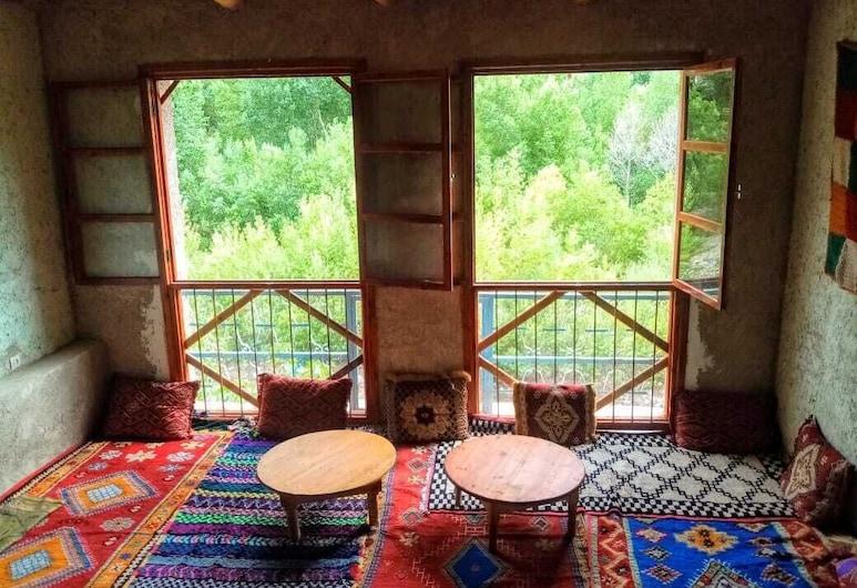 Gite Ifoulou Tessaout - Hostel, Ait Tamlil, Frukostområde