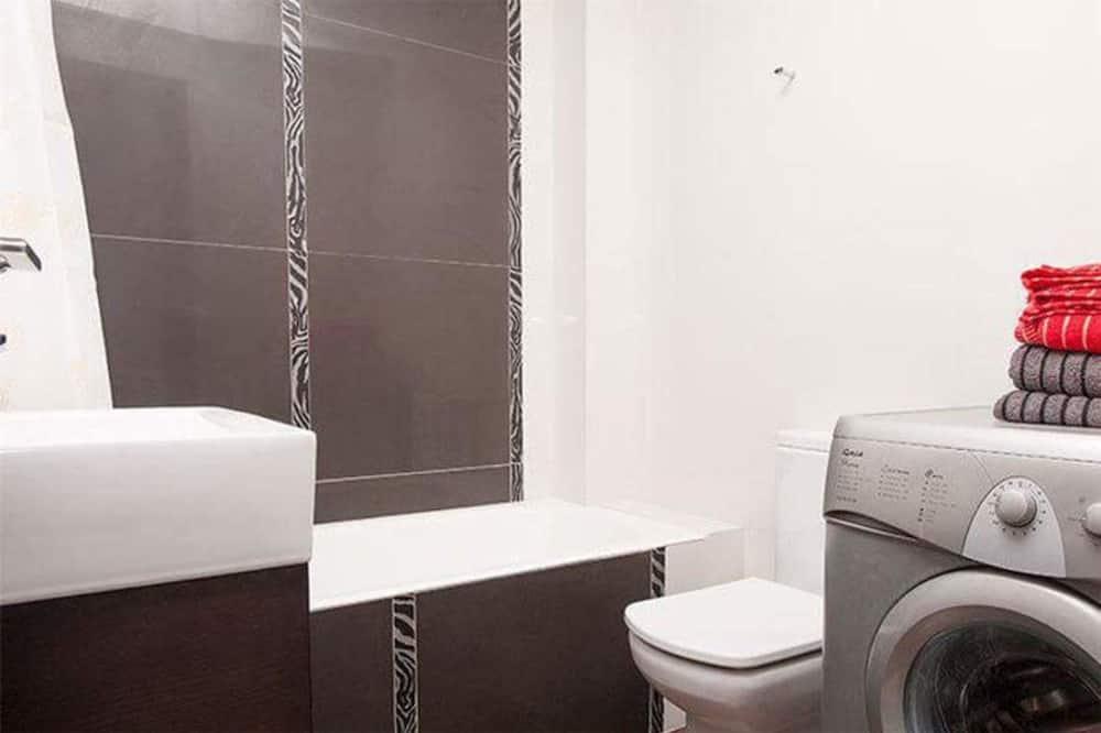 Apartment, 1 Queen-Bett - Badezimmer