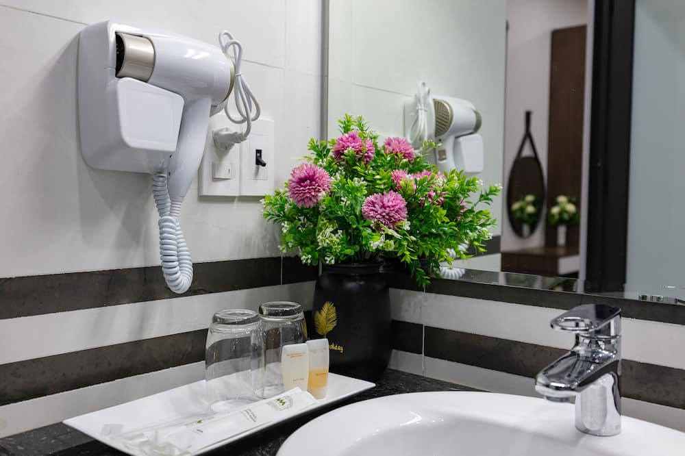 Honeymoon-Doppelzimmer - Badezimmer
