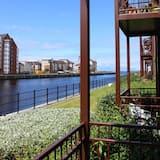 Appartamento Deluxe, bagno in camera, vista fiume - Vista balcone