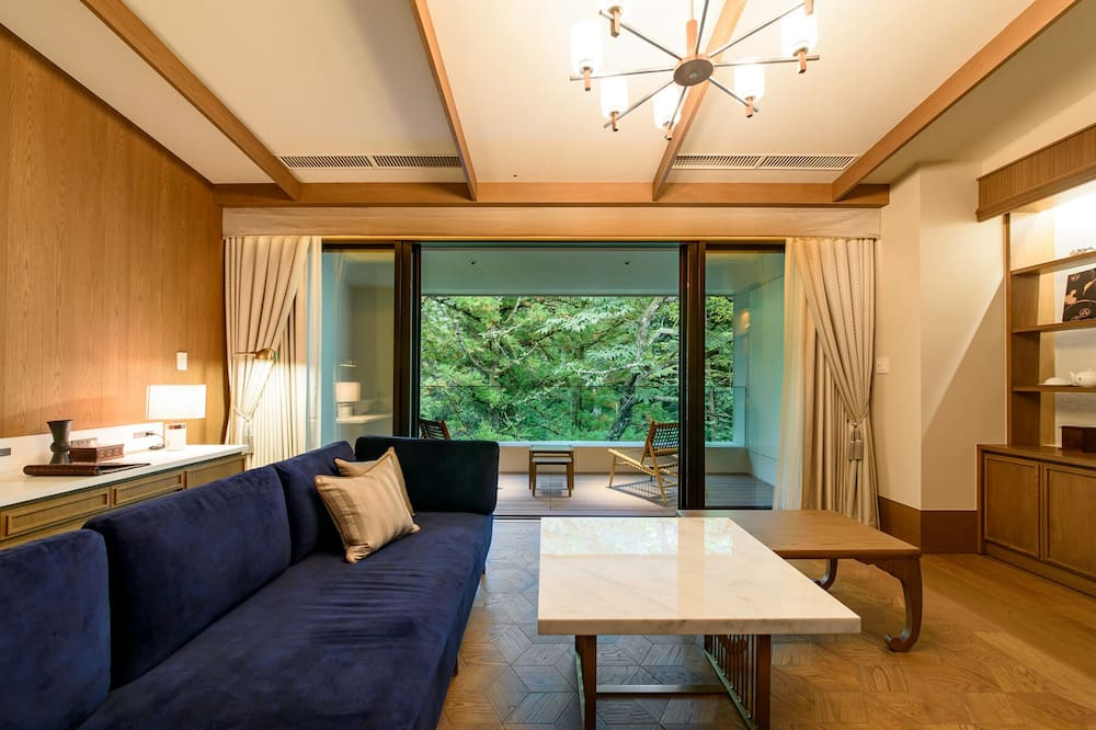חדר יוקרתי, ללא עישון (FUFU, Corner Suite) - חדר אורחים