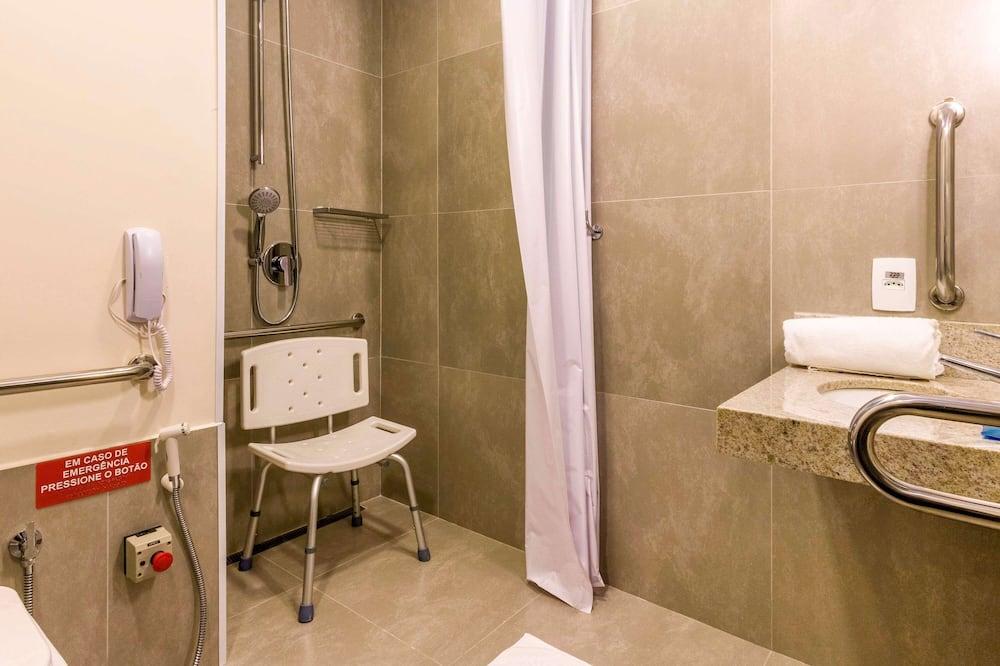Apartman, 1 bračni krevet, pristup za osobe s invalidnošću - Kupaonica