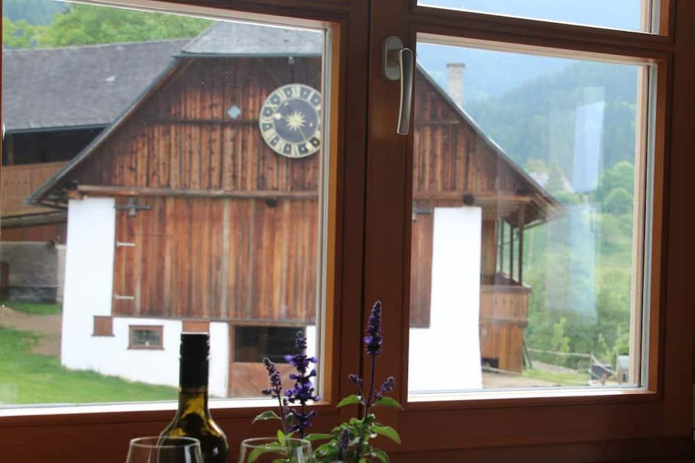 شقة - غرفتا نوم - بشرفة (Karawankenblick) - إطلالة الغرفة