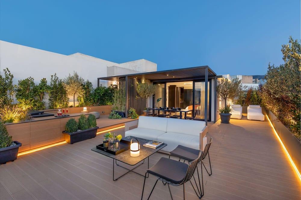 Exclusive Penthouse - Balkoni