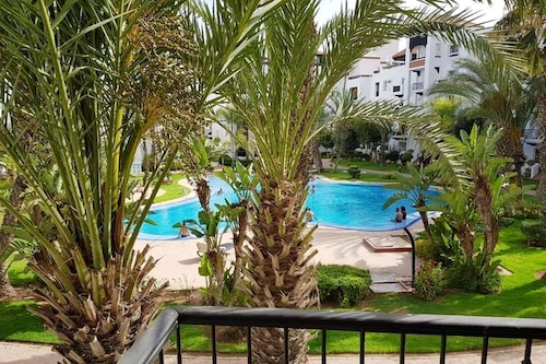 Book Apartment With 2 Bedrooms In Agadir With Wonderful City View Shared Pool Enclosed Garden In Agadir Hotels Com