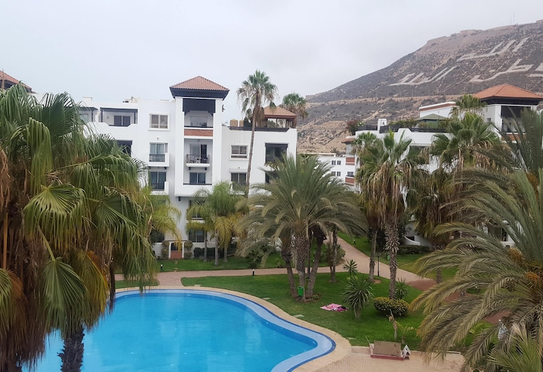 Apartment With 3 Bedrooms in Agadir, With Wonderful City View, Shared Pool, Enclosed Garden, Agadir, Pool