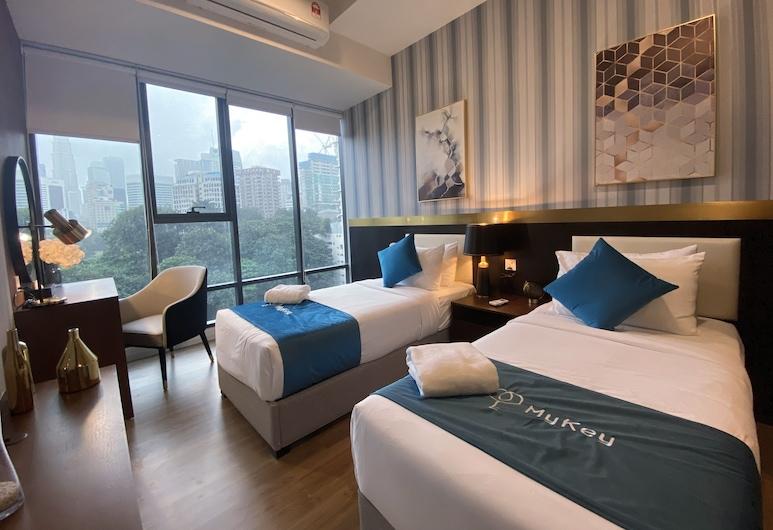 Ceylonz Lifestyle Suites, Kuala Lumpur, Designer Twin Studio, Guest Room