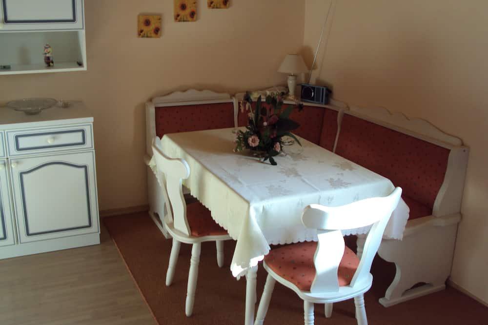 อพาร์ทเมนท์, 1 ห้องนอน (Silberblick) - บริการอาหารในห้องพัก