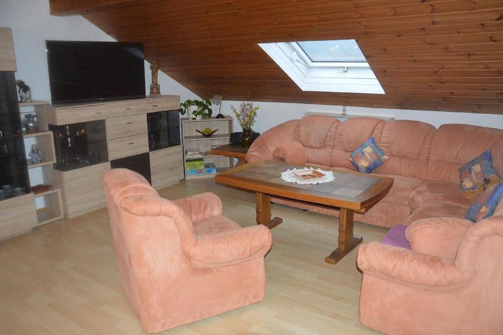 公寓, 2 間臥室 (Ferienwohnung mit Klimaanlage für 6) - 客廳
