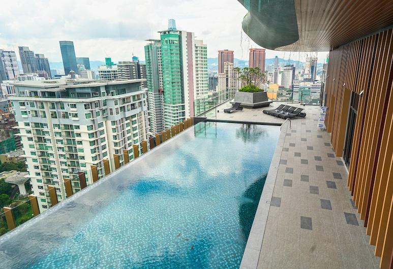 Ceylonz Starlight Suites Bukit Bintang, Kuala Lumpur, Kolam Terbuka