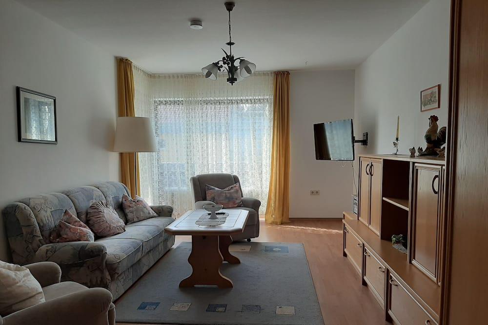 Standard Apartment, Balcony - Living Room