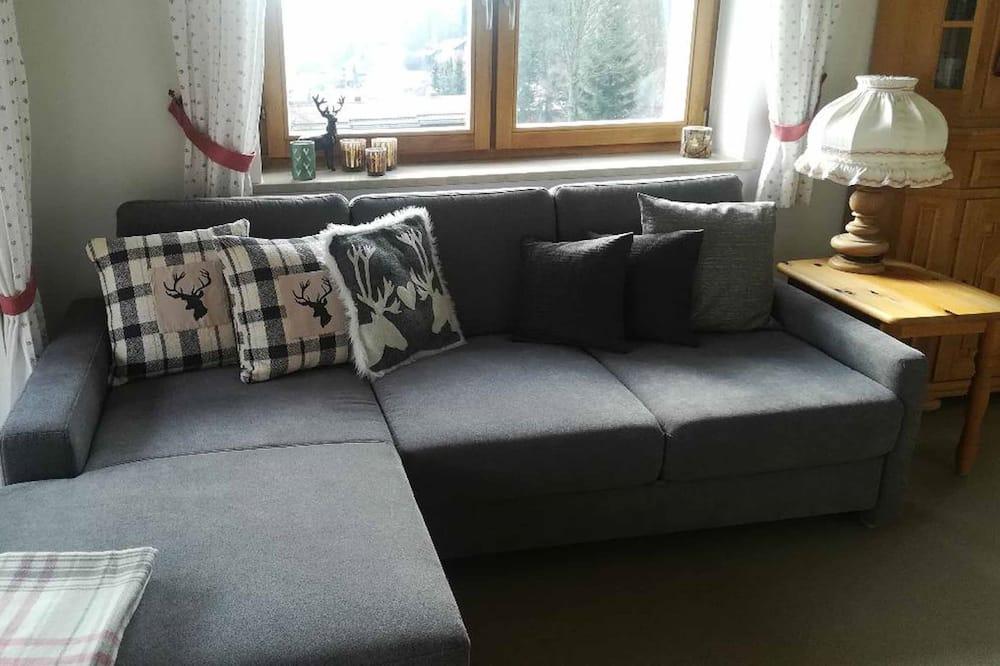 apartman, 2 hálószobával, földszinti - Nappali rész
