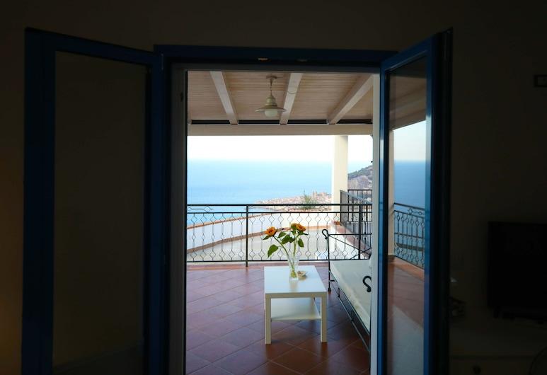 Skyview Cefalù, Cefalù, Apartamento Deluxe, 2 habitaciones, vistas al mar, Habitación