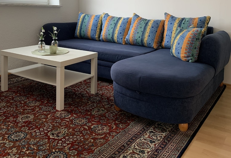 Ferienwohnung Stella, Ichenhausen, Apartment, Living Area