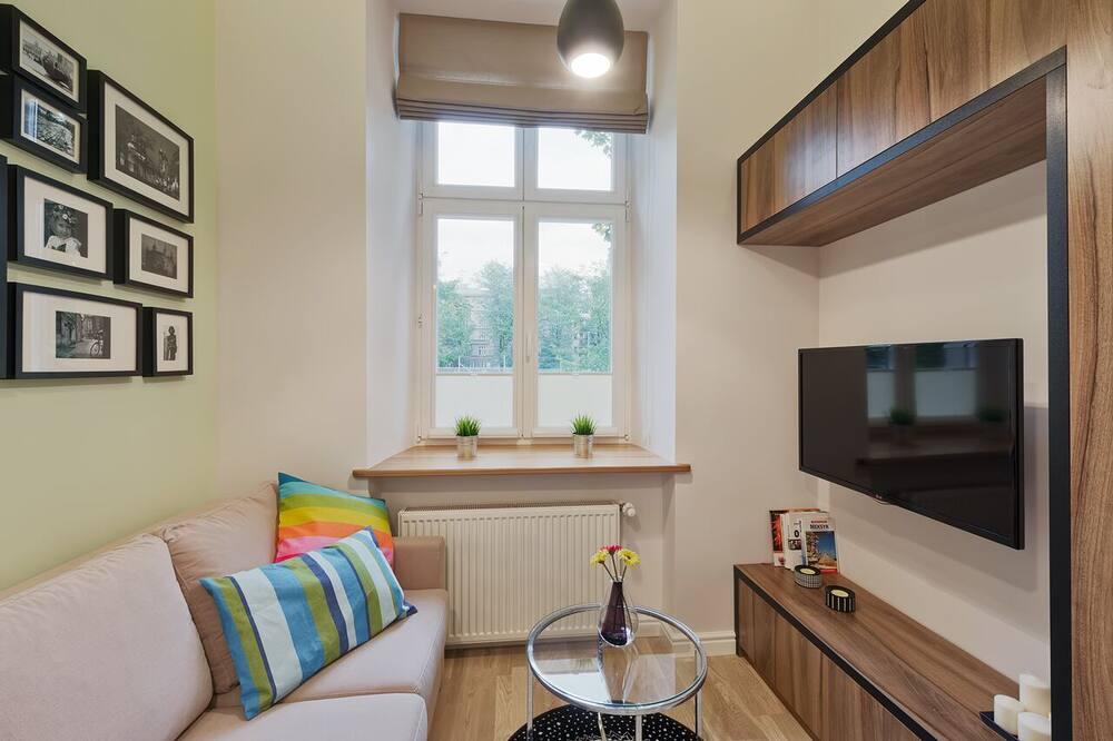 City Studio Suite - Ruang Tamu