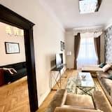 Дизайнерские апартаменты - Зона гостиной