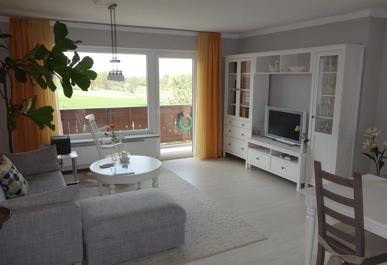 Ferienwohnung Itzgrundblick, Grossheirath, Apartment, Living Area