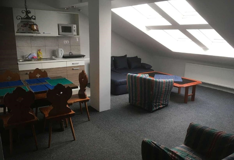 Zur Wanderloipe, Zwiesel, Condo, Living Area