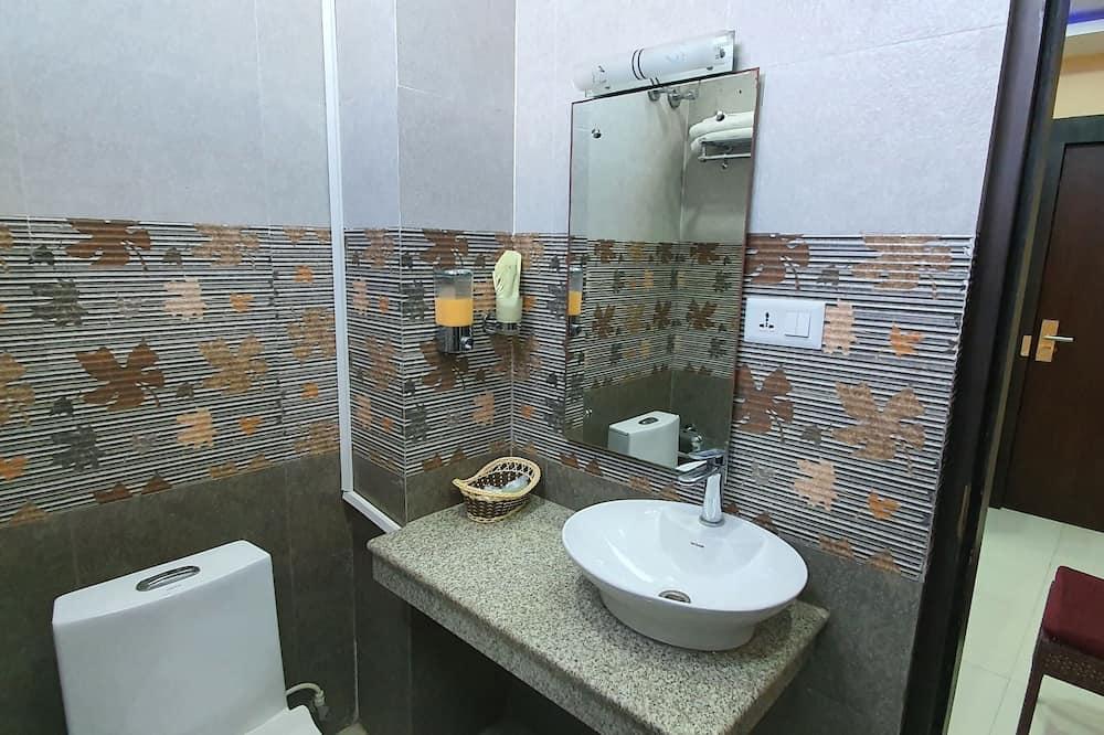 Deluxe-enkeltværelse - Badeværelse