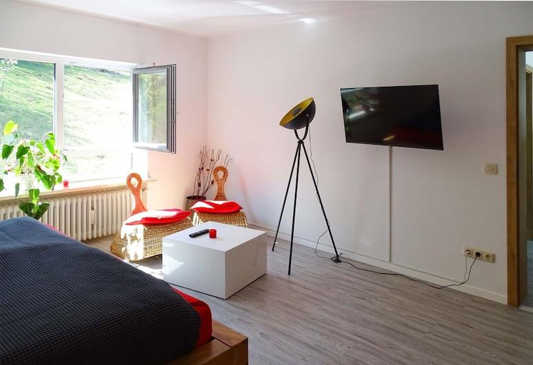 Ferienwohnung beim Burgberg, Bad Abbach, Khu phòng khách