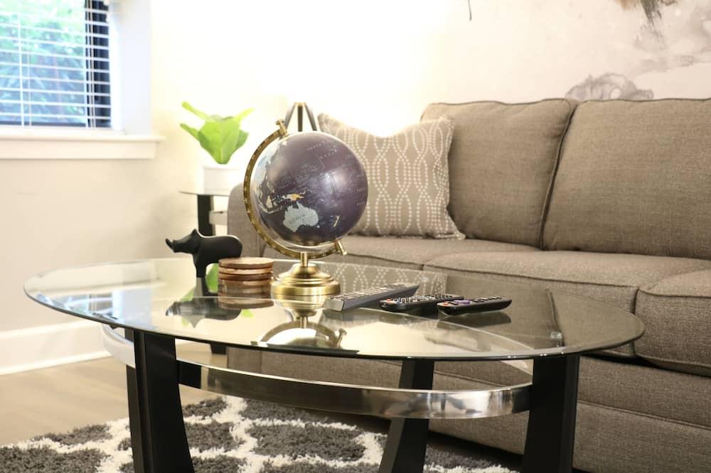 Executive-Apartment, 1 Schlafzimmer, Nichtraucher, Küche - Wohnzimmer