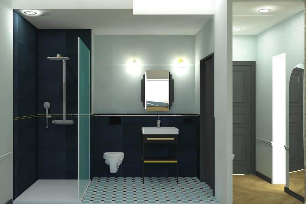 Zimmer, Annex (Découverte Mélisse) - Badezimmer