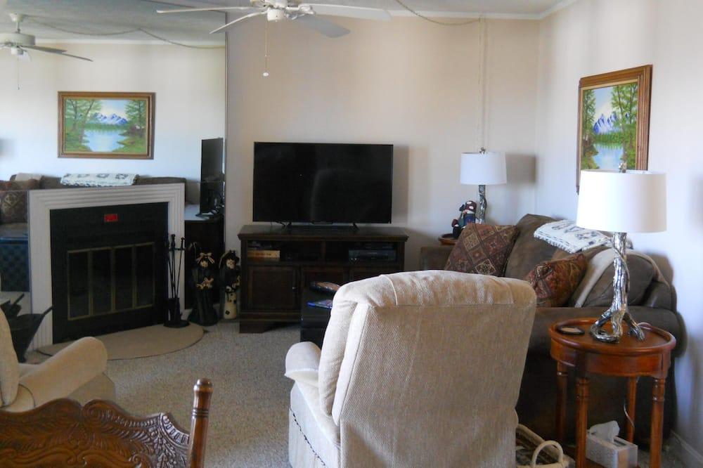 Appart'hôtel, plusieurs lits (Sugar Ski & Country Club Unit 324 Sil) - Salle de séjour