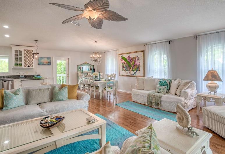 Butler Beach Houses, St. Augustine, Ferienhaus (Chiquita Sun House), Wohnzimmer