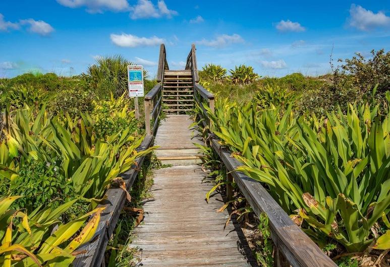 Seascape St Augustine, St. Augustine, Ferienhaus (Seascape Family Beach Retreat), Hotelgelände