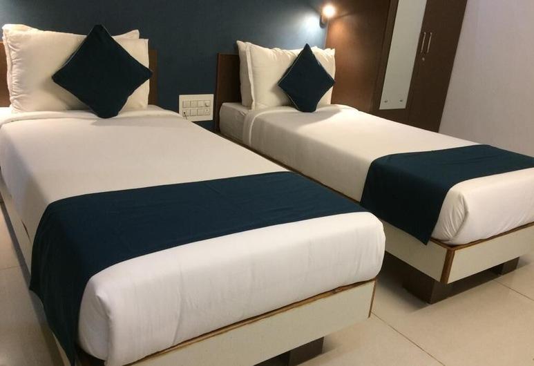 Hotel Airo Nest, Bengaluru, Herbergi fyrir tvo, tvö rúm, Herbergi