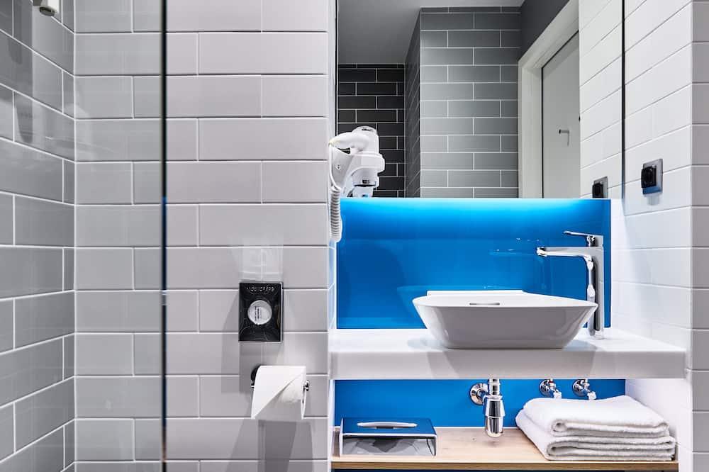 Habitación estándar, 2 camas individuales, con vista - Baño
