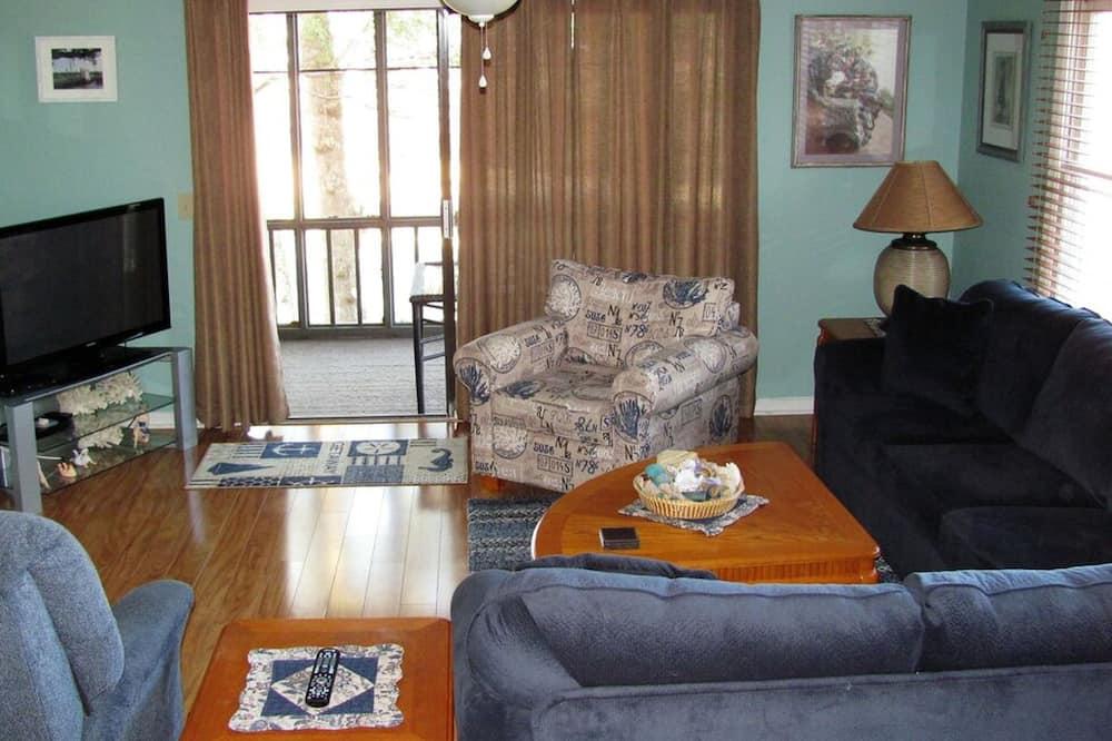 Villa, 1 Bedroom, Golf View - Living Room