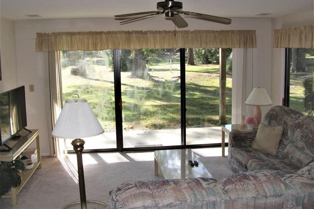 Вілла, 1 спальня, з видом на поле для гольфу - Вітальня