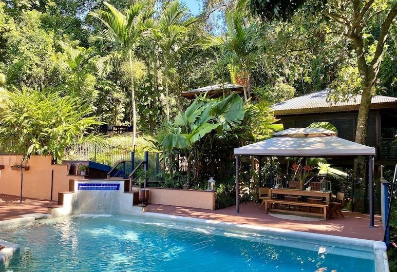 Cairns Rainforest Retreat, Bayview Heights, Outdoor Pool