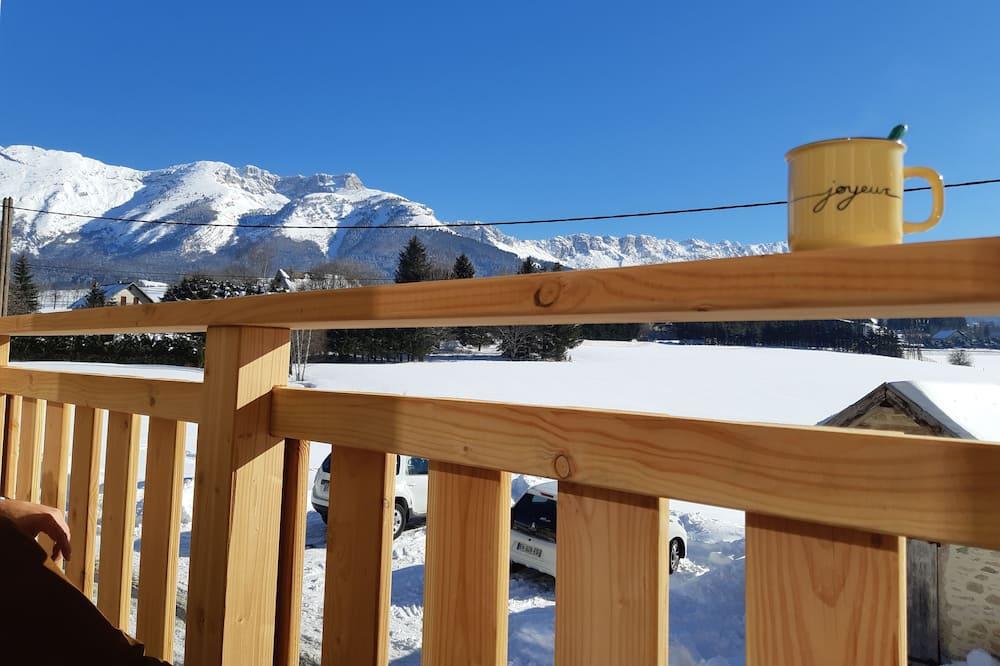 Stuga Panoramic - utsikt mot bergen - Balkongutsikt