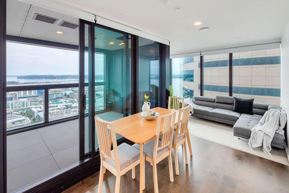 Apartment, 2Schlafzimmer, Stadtblick - Essbereich im Zimmer