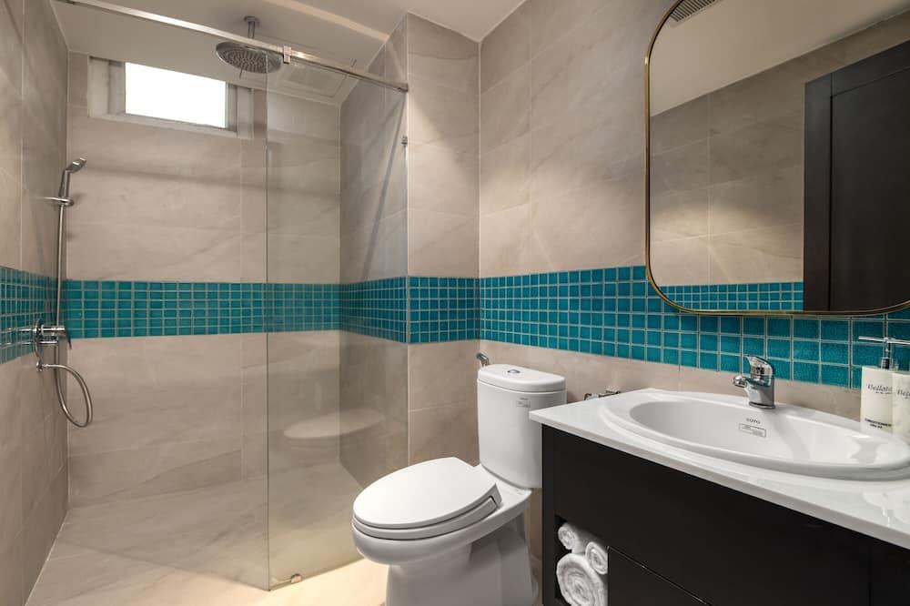 Deluxe szoba két külön ággyal, kilátással az óceánra - Fürdőszoba