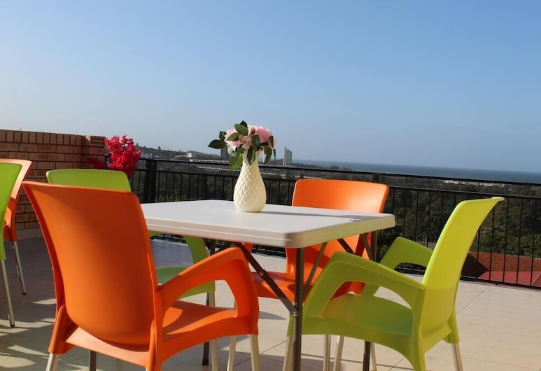 Royal Ushaka Hotel- Morningside, Durban, Terasa/trijem
